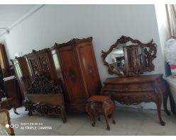 Dormitor Baroc  Venezian Nuc
