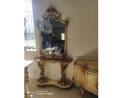 Consola Baroc cu statuete