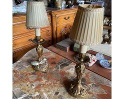 set lampii  dormitor   , bronz