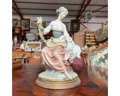 statueta ceramica  Capodimonte